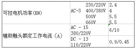 SIEMENS+3TB40系列接触器(额定电流:9A)+属性