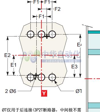 !!!!Schneider+NSX250H系列配电保护型断路器+安装方式2