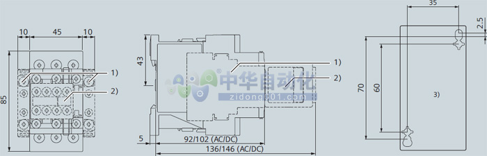 !!!!SIEMENS+3RT6024系列接触器+安装方式1