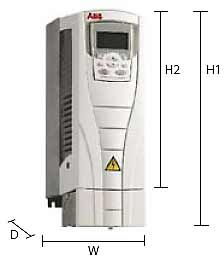 ACS510系列低压交流传动安装方式