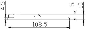 !!!!!!ColliHigh+JRFW-1温度标签+安装方式2