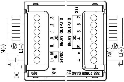 siemens+s7-200 smart系列数字量输出模块+接线方式1