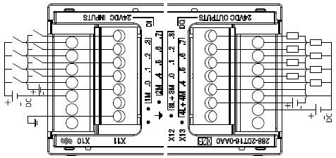 6es7 288-2dt32-0aa0型数字量输入/输出模块