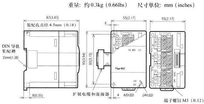Mitsubishi+FX2N系列模拟量输入输出模块3