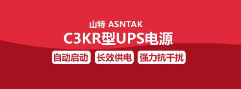 山特 ASNTAK  C3KR型UPS电源