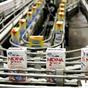 盒装牛奶灌装流水线系统简单示意