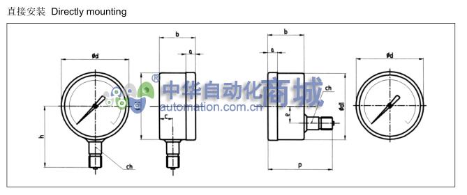 BULAIDI+YTHN-100系列全不锈钢压力表+安装方式.jpg