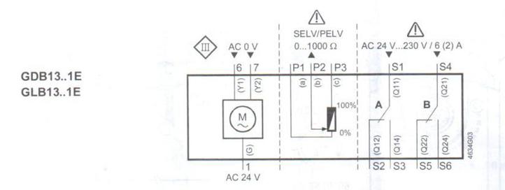 1e型风阀执行器