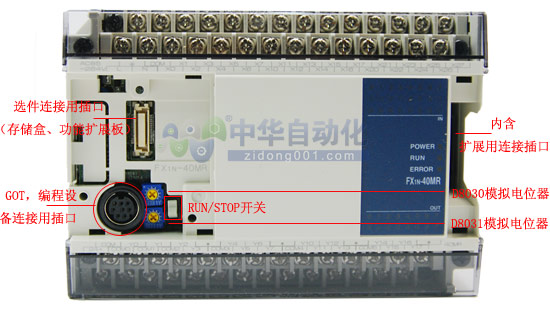 FX1N-40MR-001型CPU