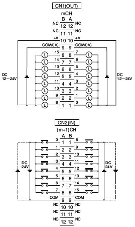 plc晶体管输出内部电