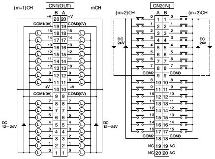 plc晶体管输出电路图
