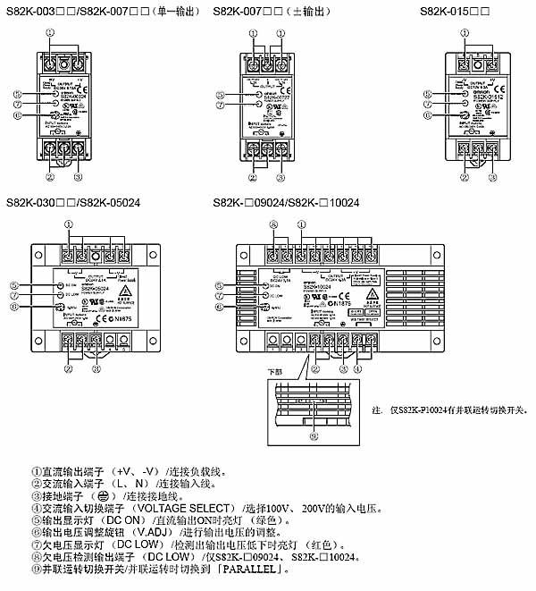 】欧姆龙omrons82k-p03027型开关电源价格
