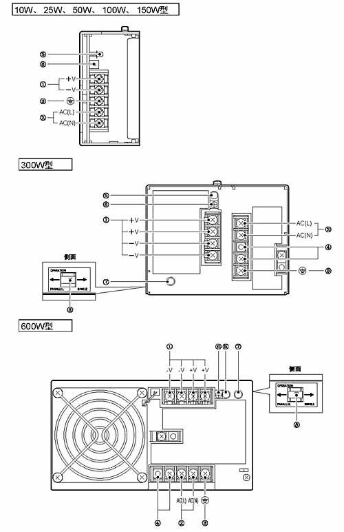 s82j开关电源系列接线方式